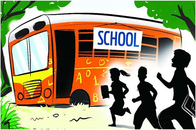 60% school buses